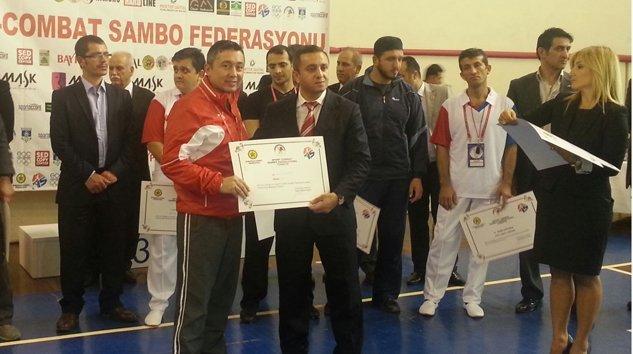 Ertan Akdoğana Sport Combat-Sambo il temsilciliği
