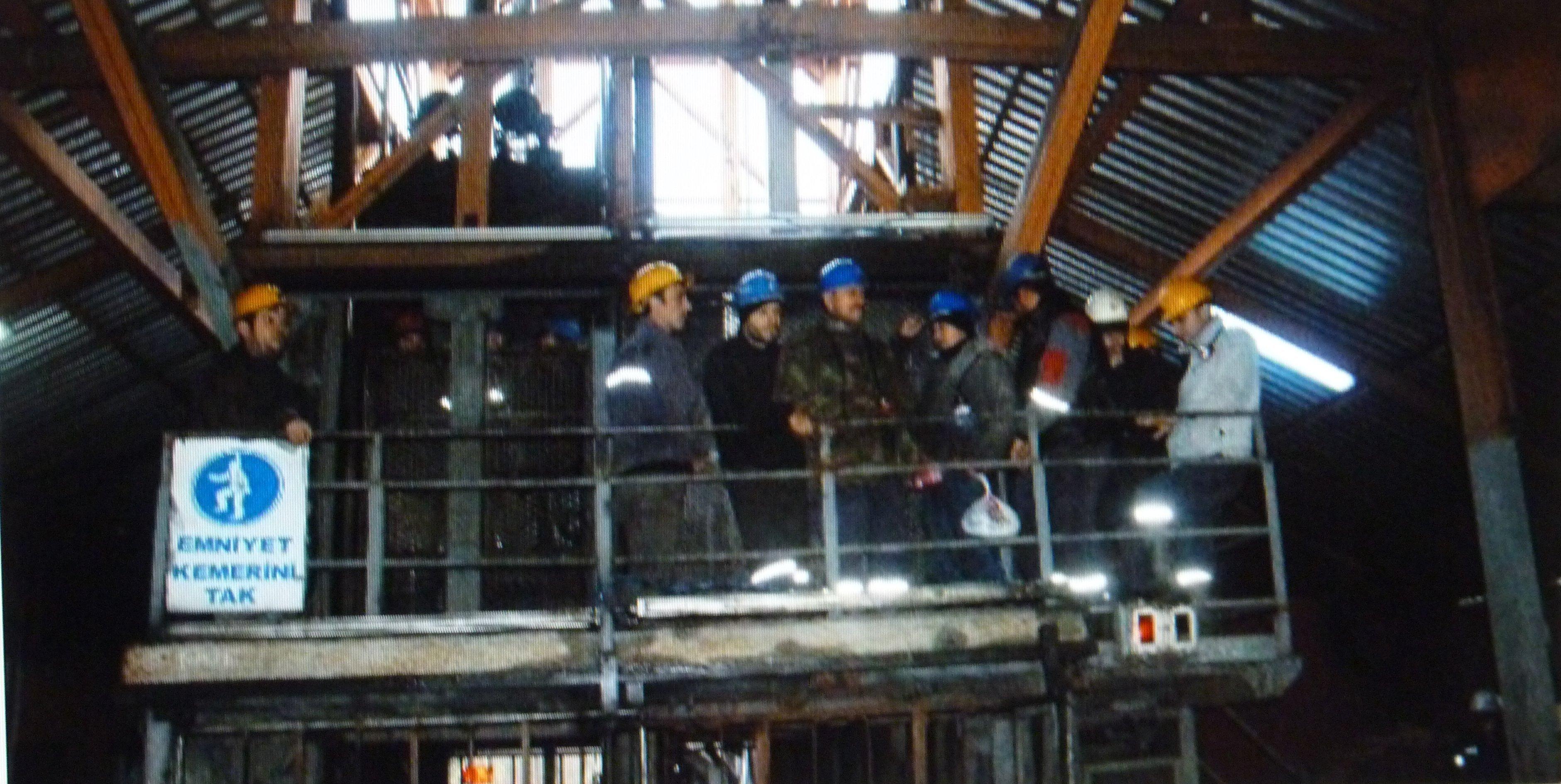 Zonguldak Ereğli'de madende işçi eylemi