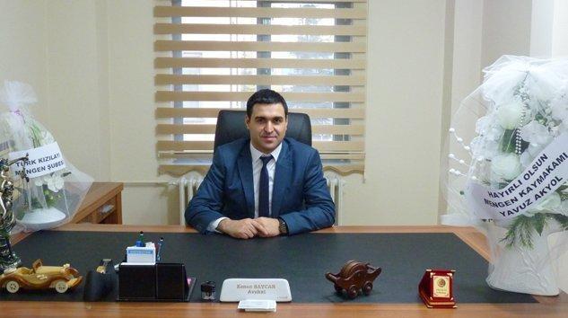 Kenan BAYCAN Hukuk Bürosu Mengen'de açıldı