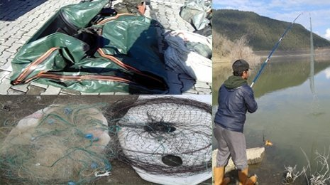 Köprübaşı Barajında avcılara ceza yağdı