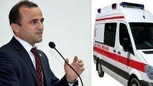Gerede'ye bir yeni ambulans daha(Yetmezse Mengen'den de alın)