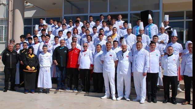 Akdeniz Üniversitesi Tafed  ve Manavgat Aşçılar Derneği Yemek Yarışması Yapıldı
