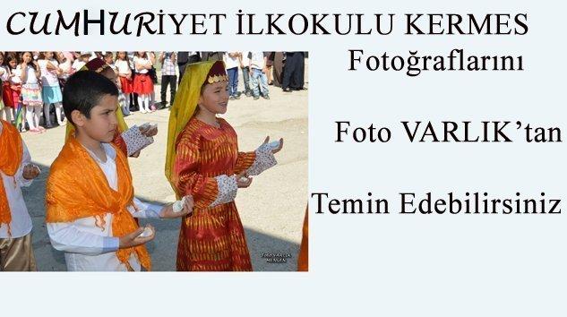 Cumhuriyet İlkokulu kermes Fotoğrafları F.VARLIK'ta