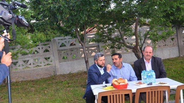 Mengen TV-Umre arkadaşları iftar yemeği