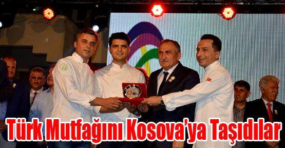 Mengen MYO öğretim görevlileri Türk Mutfağını Kosova'ya Taşıdılar