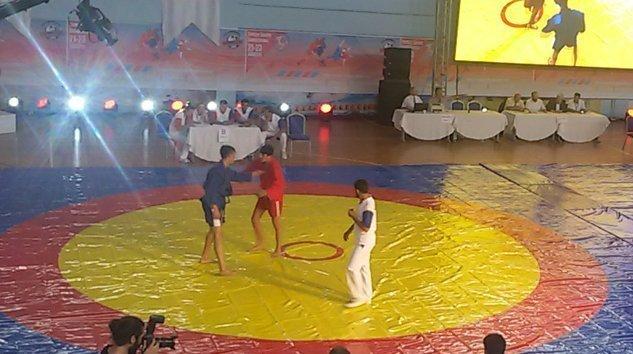 Sporcularımız Sport Combat sambo Turkiye sampiyonasında