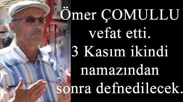 Beşler Mahallesinden (Kulaksız)Mehmet SEZER vefat etti
