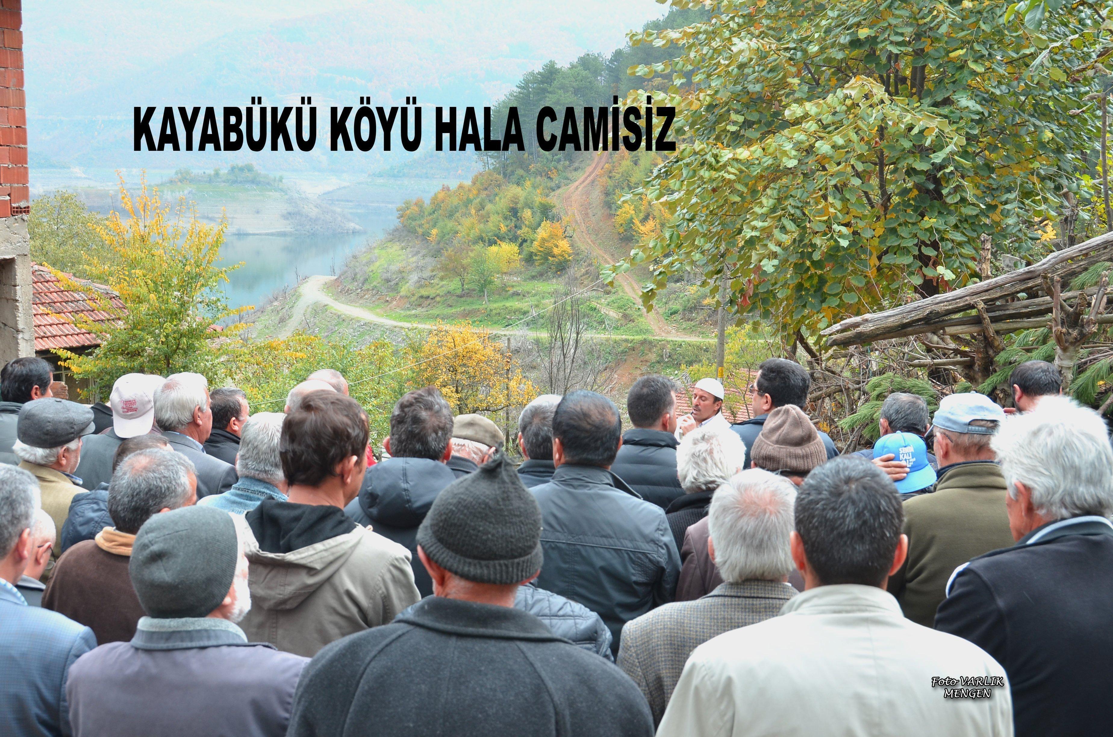 (Arşiv Haber) Kayabükü Köyü Hala Camisiz