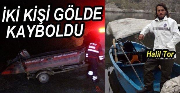 Köprübaşı Barajında Kaybolan iki kişi aranıyor