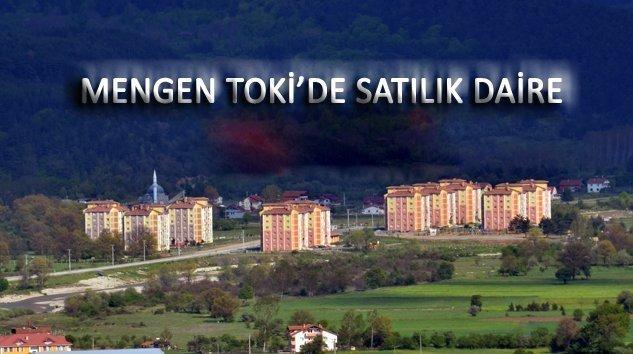 Mengen TOKİ'de satılık daire