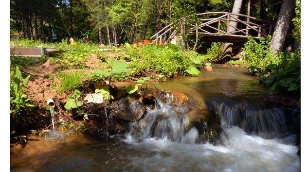 Mengen Cennet vadisinde Bungalov konaklama başladı.