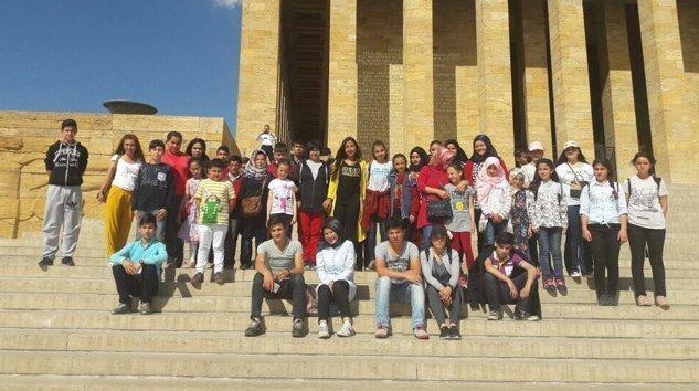 Mengen Milli Eğitimi  Ankara gezisinden fotoğraflar