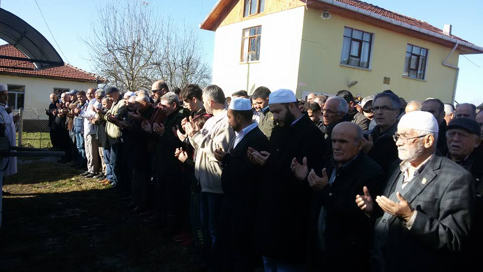 Rüknettin'den Ziya ÖZTÜRK (Berber Ziya) dualarla uğurlandı