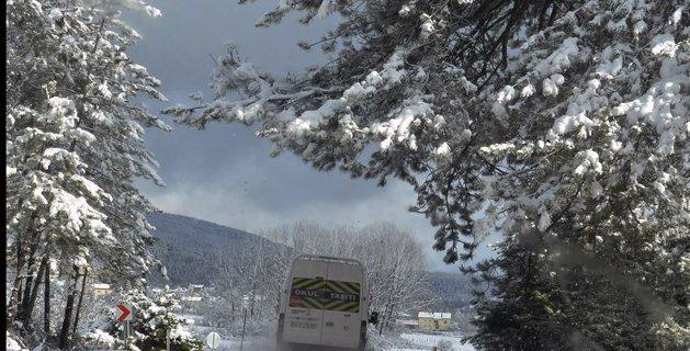 Mengen kış manzaraları