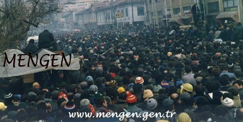 Sendikacıların Ankara Yürüyüşlerinin 28. Yılı