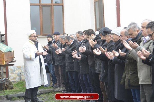 Dr.Mustafa KÖRPEOĞLU'nun annesi dualarla uğurlandı