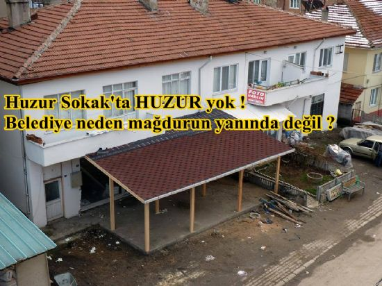 BELEDİYE'DEN HAKSIZ HUKUKSUZ KARAR(Bolunun Sesi)