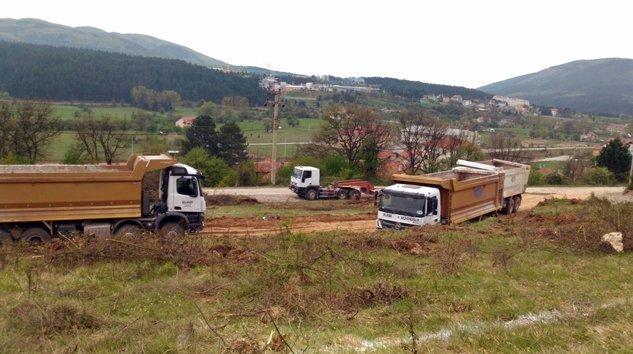 Mengen'de Kampüs Hafriyat Çalışmaları Devam Ediyor