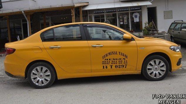 Bolu Mengen'de Hatlı Satılık Taksi