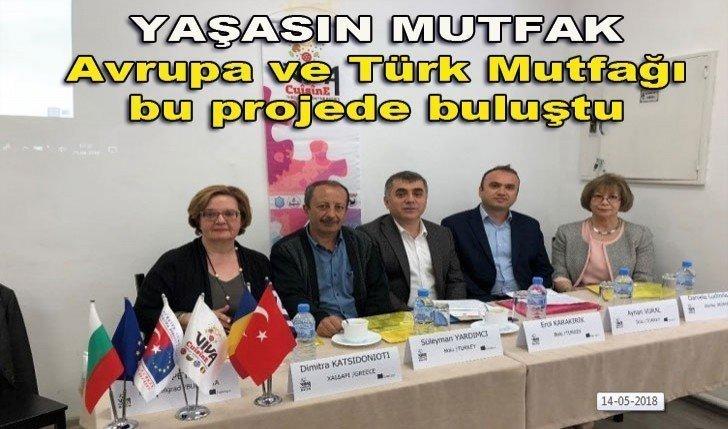 Avrupa ve Türk Mutfağı bu projede buluştu
