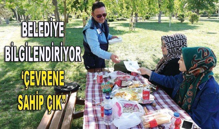 """BELEDİYE BİLGİLENDİRİYOR 'ÇEVRENE SAHİP ÇIK"""""""