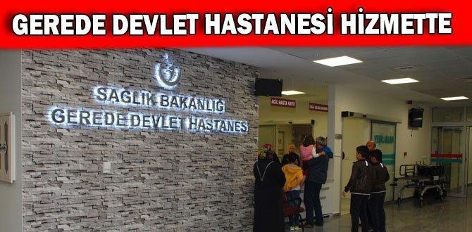 Gerede Devlet Hastanesi Yeni Binasıyla Hizmette