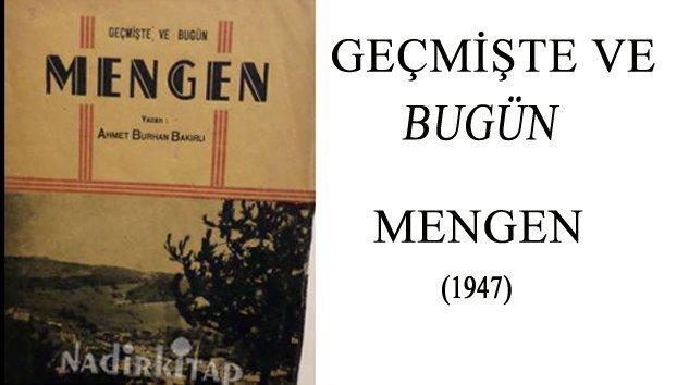 Mengen İçin Yazılan İlk Kitap – 1947