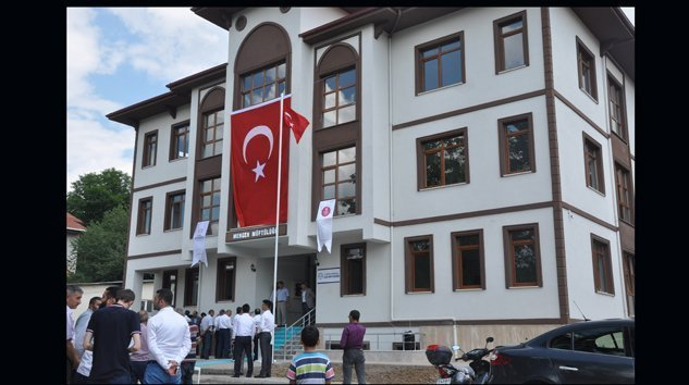 Müftülük ve Kur'an Kursu Binası Hizmete Açıldı