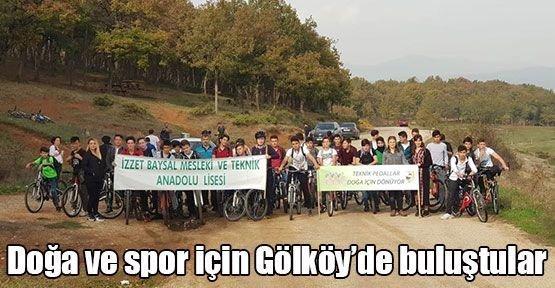 Doğa ve spor için Gölköy'de buluştular