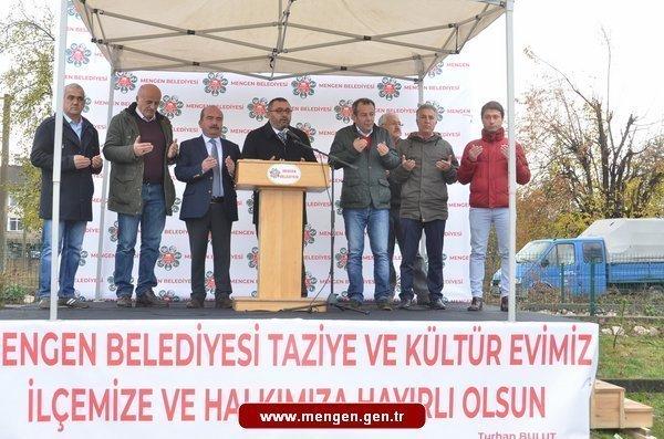Taziye ve Kültür evi Temeli Atıldı