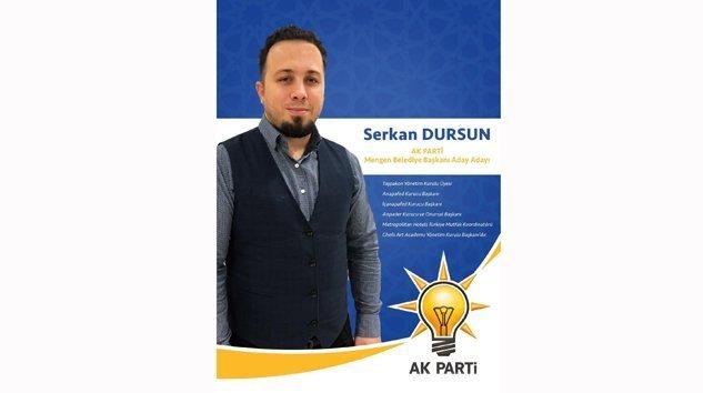 Chef Serkan DURSUN AK Parti'den Aday Adayı