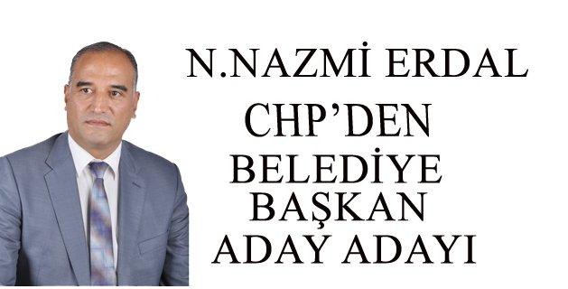 Nazmi ERDAL CHP'den Aday Adayı