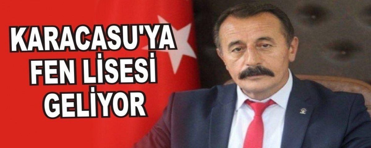 KARACASU'YA FEN LİSESİ GELİYOR