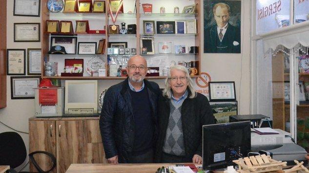 Mustafa Nuri Gürsoy Stüdyomuzu Ziyaret Etti.