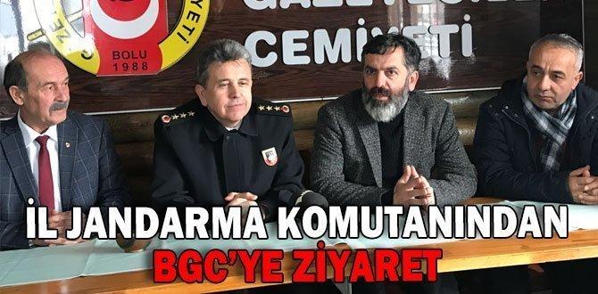 İL JANDARMA KOMUTANINDAN BGC'YE ZİYARET