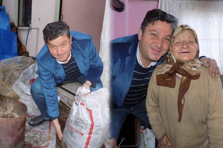Yaşlı Kadının Sobasını Her Gün Muhtar Yakıyor
