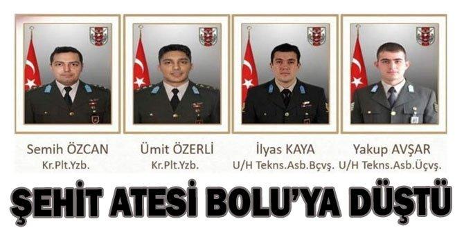 ŞEHİDİN VAR BOLU-MENGEN-!