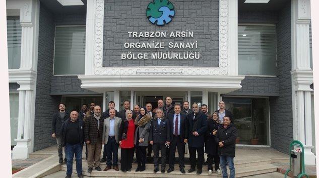 FAS'LI İŞ ADAMLARI ARSİN OSB'DE