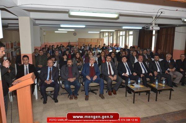 Mehmet Akif ERSOY Mengen'de Anıldı