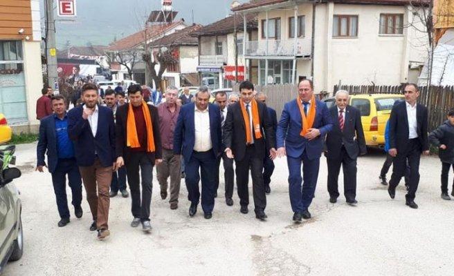 DP lideri Uysal, Bolu'da Gökçesu'da Sevgi Seli