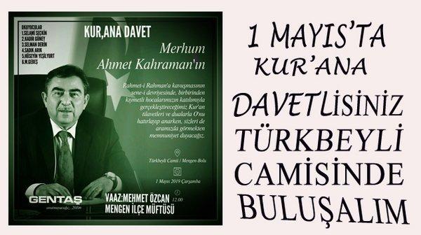 Ahmet KAHRAMAN'ı Özlemle Anıyoruz