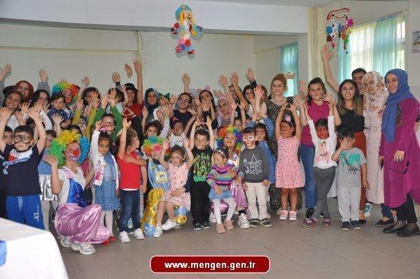 Mengen Ahmet Kahraman Lisesi'nde Çocuk Şenliği