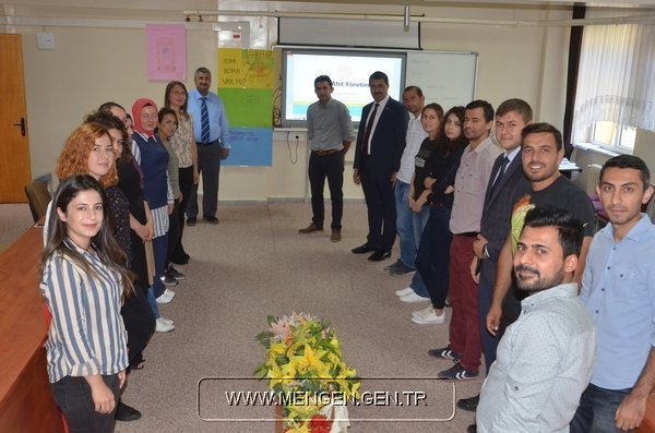 Mengen'de Okul Afet Yönetimi