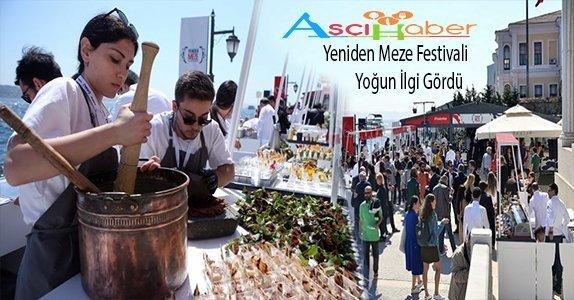 Feriye'de Yeniden Meze Festivali Yoğun İlgi Gördü..