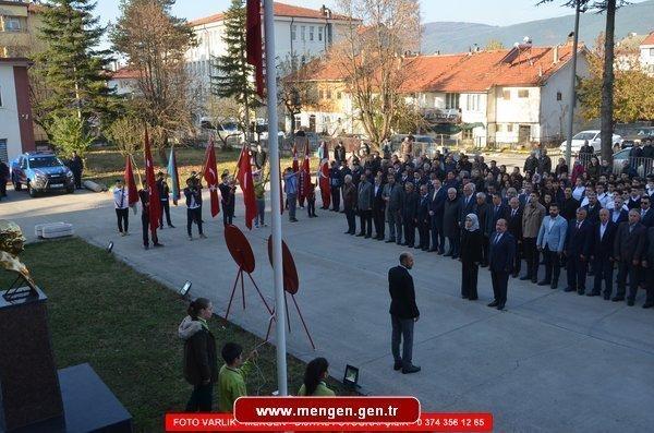 10 Kasım'da Atatürk'ü andık