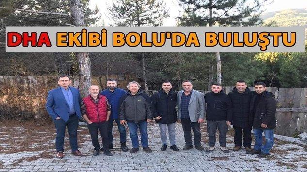 DHA EKİBİ KIŞ TOPLANTISINI BOLU MENGEN'DE YAPTI