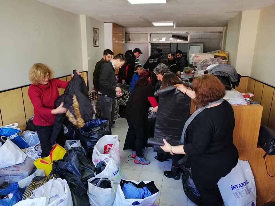 Devrek Belediyesi'nden Elazığ ve Malatya'ya Yardım Kampanyası