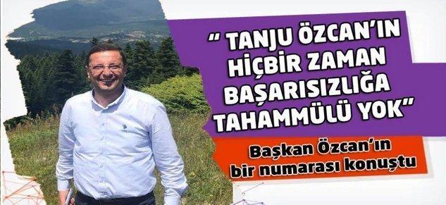 Başkan Özcan'ın Bir Numarası Konuştu