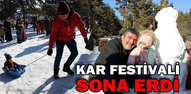 GEREDE KAR FESTİVALİ SONA ERDİ