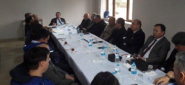 Mengen'de istişare toplantısı yapıldı